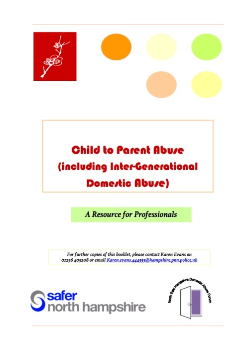 Child to Parent Abuse Booklet June 2014-2